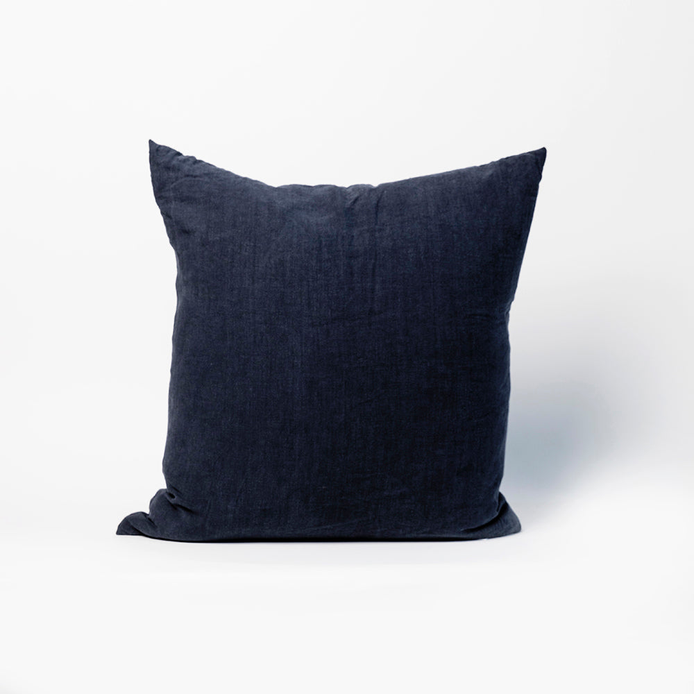 Simple Linen Pillow, 22x22