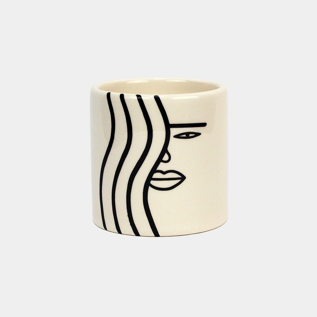 Wavy Girl Mini Pot