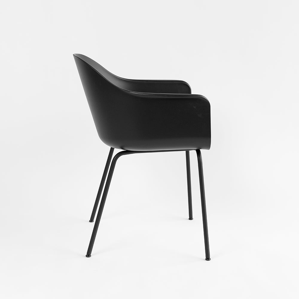 Harbour Chair, Hard Shell, Steel legs