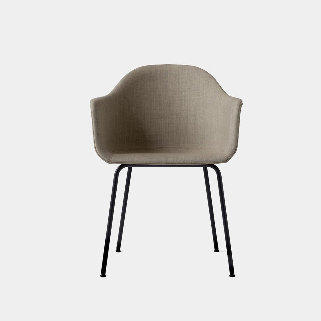 Harbour Chair, Upholstered, Steel Legs