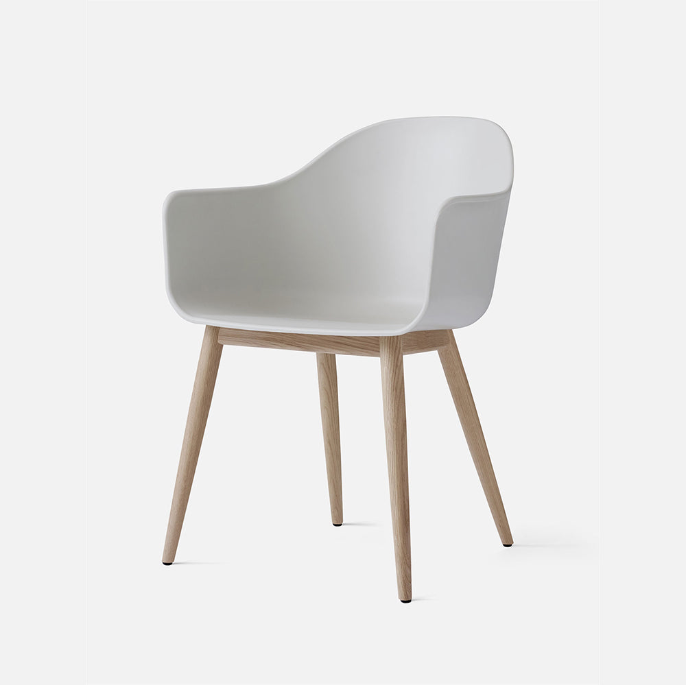 Harbour Chair, Hard Shell, Wooden legs