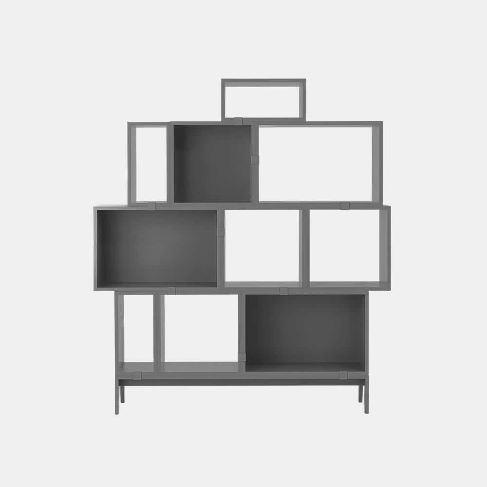 Stacked 2.0 Shelving System
