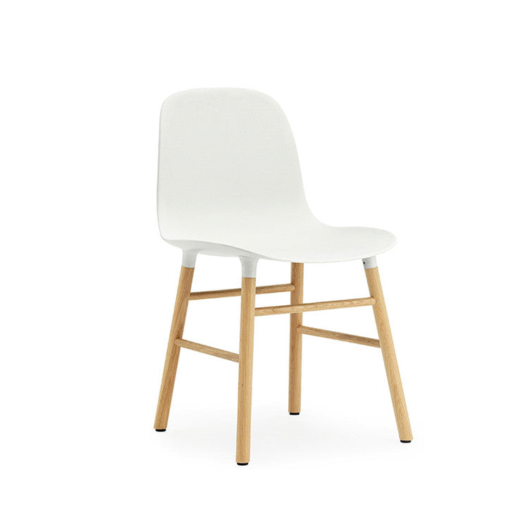Form Chair, wood legs