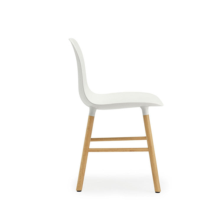 Form Chair, Wood Legs ...