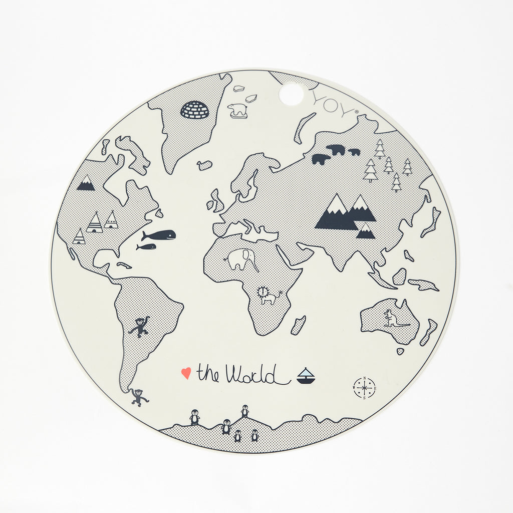 The World Placemat