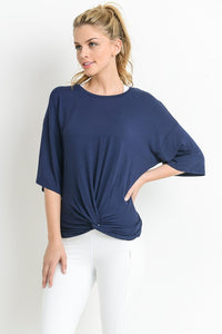 Mono B Essential Midi Sleeve Top