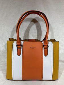 Purse Plus Stripe Panel Handbag