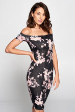 Load image into Gallery viewer, Lovely Day -  Off Shoulder Dress