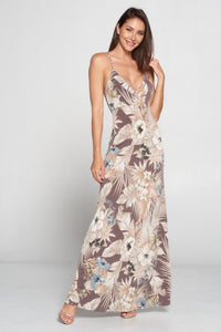Lovely Day - Floral Maxi Dress