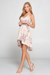 Lovely Day - Floral High Low Dress