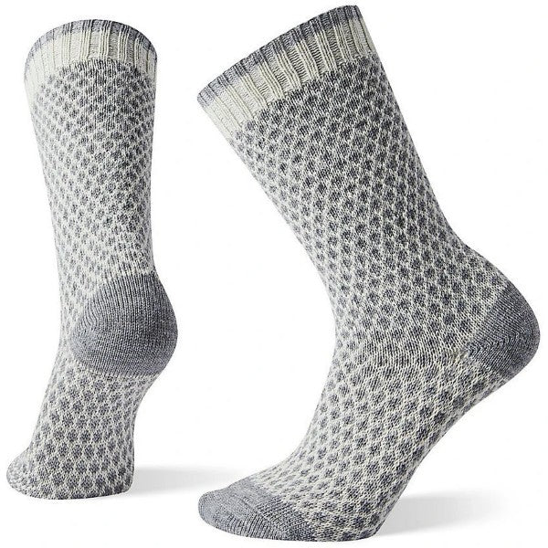 Smartwool Women's Popcorn Polka Dot Cable Socks Natural