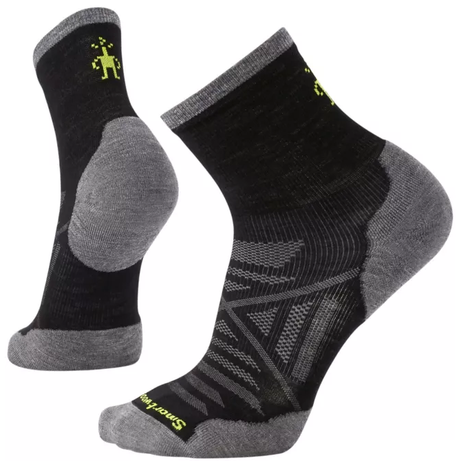 Smartwool - Men's PhD Run Cold Weather Mid Crew