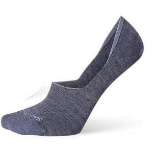 Smartwool No Show Blue Steel Socks Women's