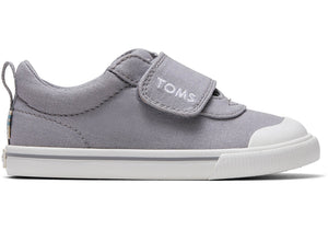 Toms Doheny Drizzle Grey Canvas Tiny