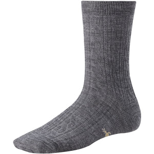 Smartwool Women's Cable Crew Gray