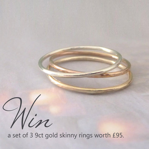 9ct gold ring giveaway