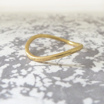 Rocking Wishbone 18ct Gold - 1.5mm