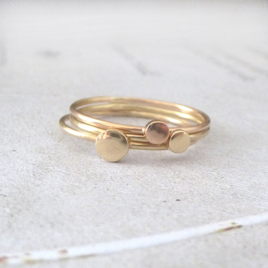 Orbit 9ct Rose Gold Ring