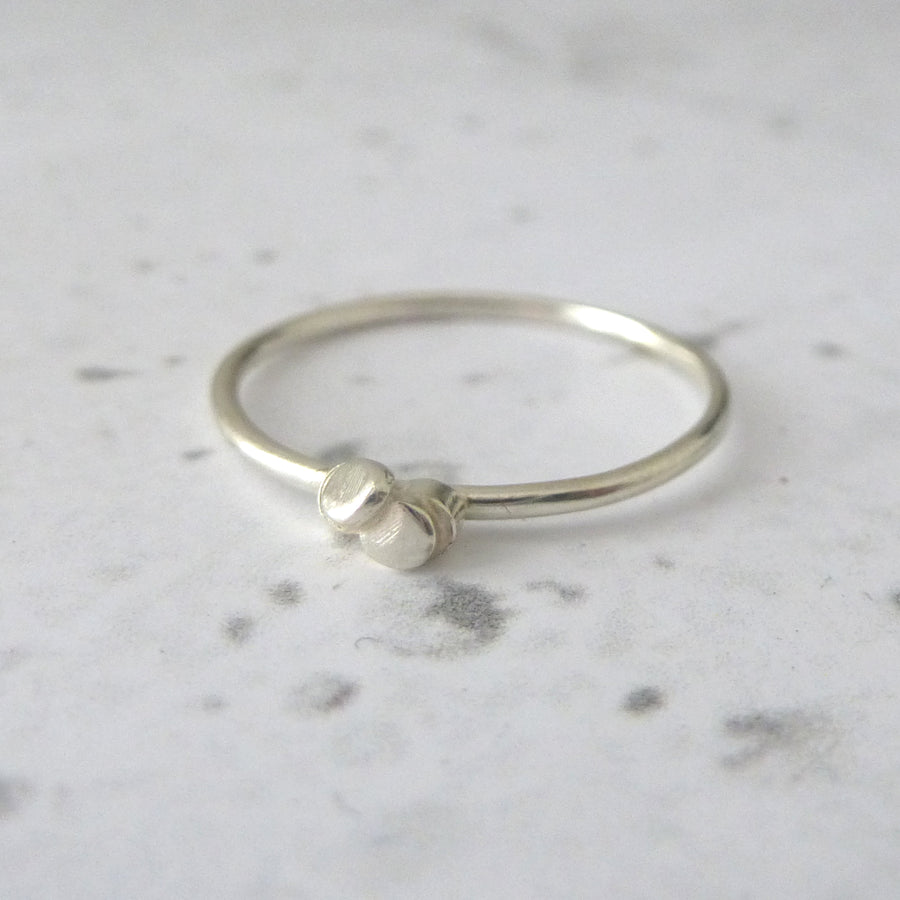 Ria 9ct White Gold Ring
