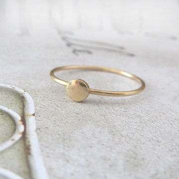 Orbit 9ct Yellow Gold Ring