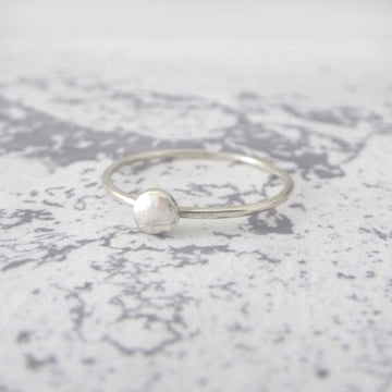 Orbit Sterling Silver Ring