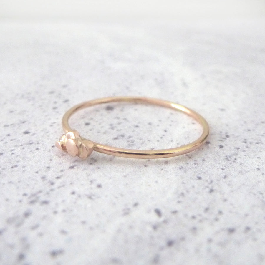 Ria 9ct Rose Gold Ring