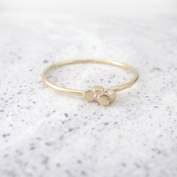 Ria 9ct Yellow Gold Ring