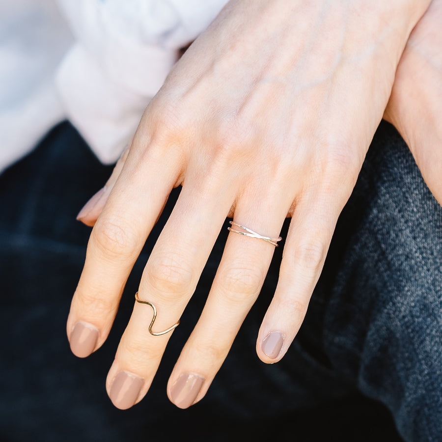 Sally Sterling Silver Midi Ring