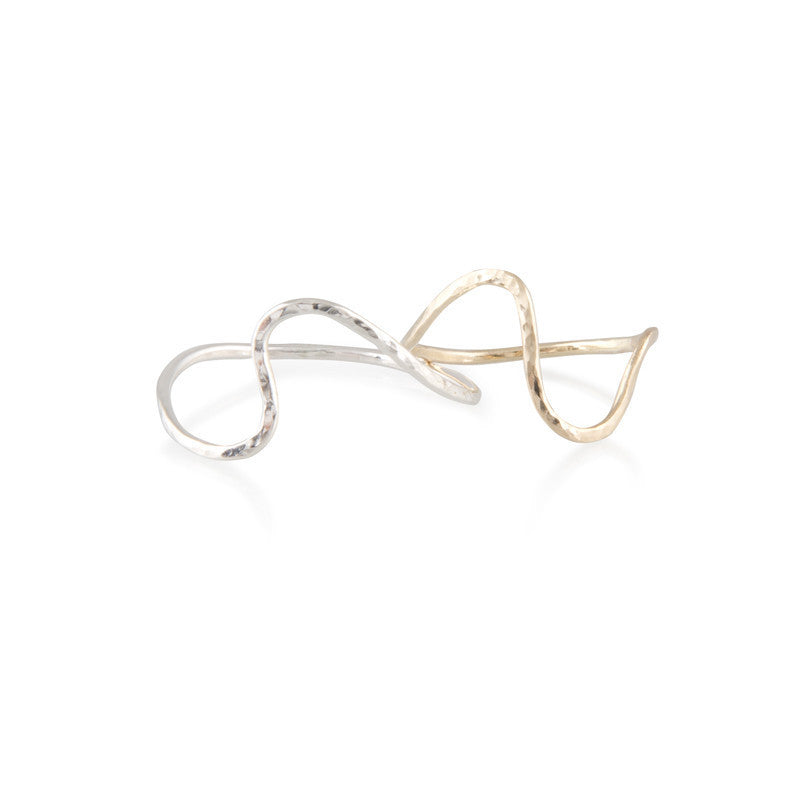 Sally 9ct Gold Midi Ring - 9ct Yellow Gold