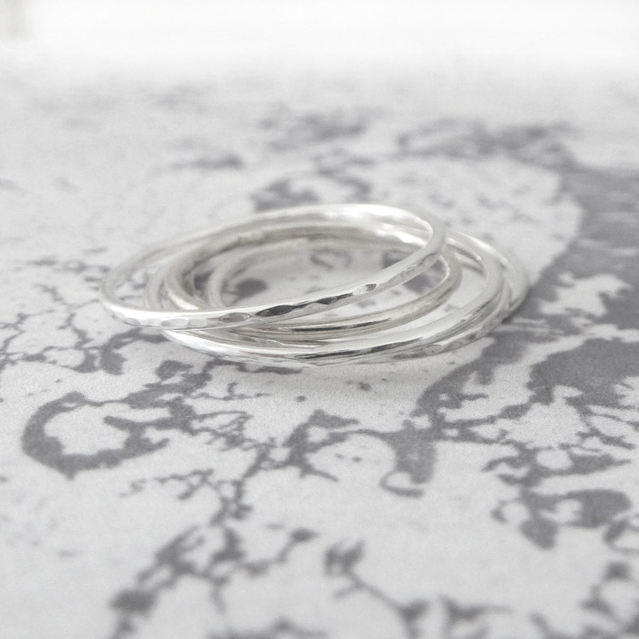Skinny Midi Ring - Sterling silver