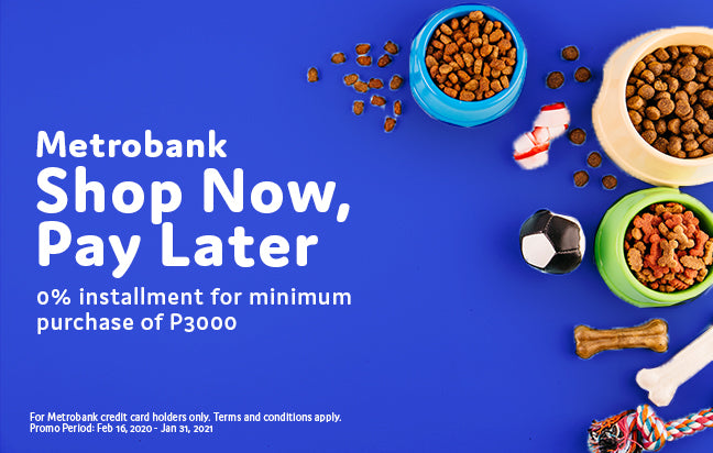 Metrobank Shop Now, Pay Later