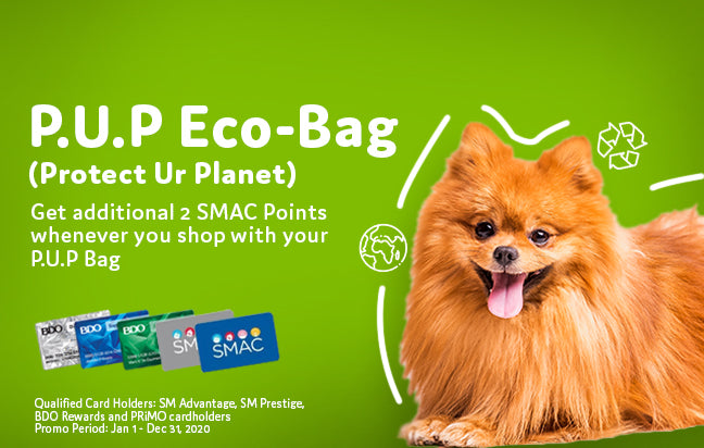 Pet Express P.U.P Bag Bonus Points