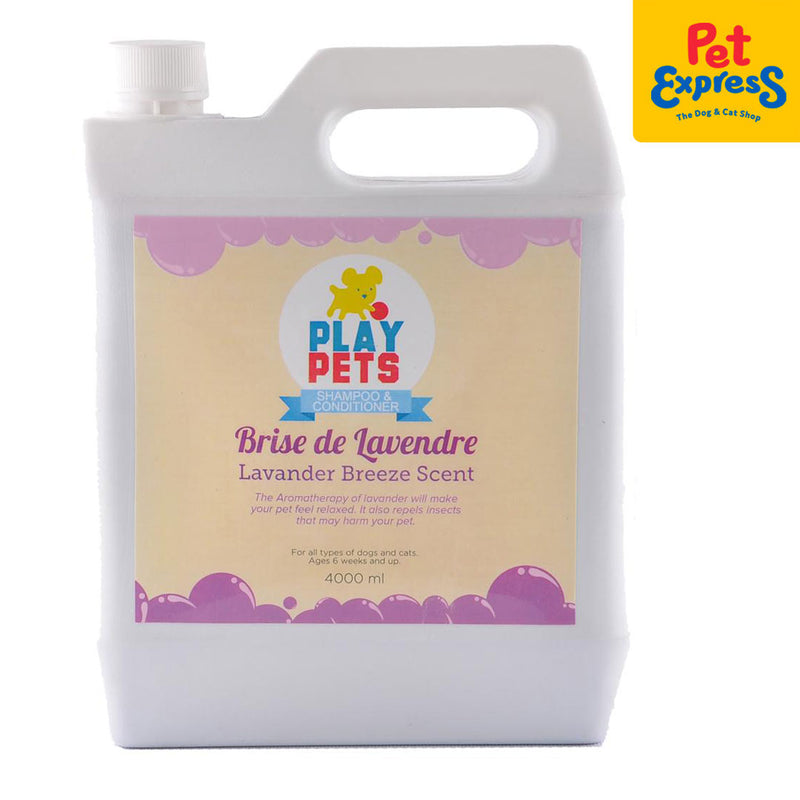Play Pets Shampoo and Conditioner Lavender 4000ml
