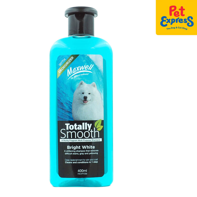 Maxwell Totally Smooth Bright White Shampoo 400ml