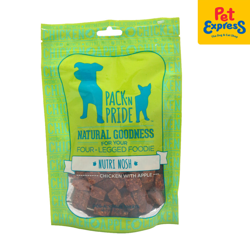 Pack N Pride Nutri Nosh with Apple Dog Treats 5oz