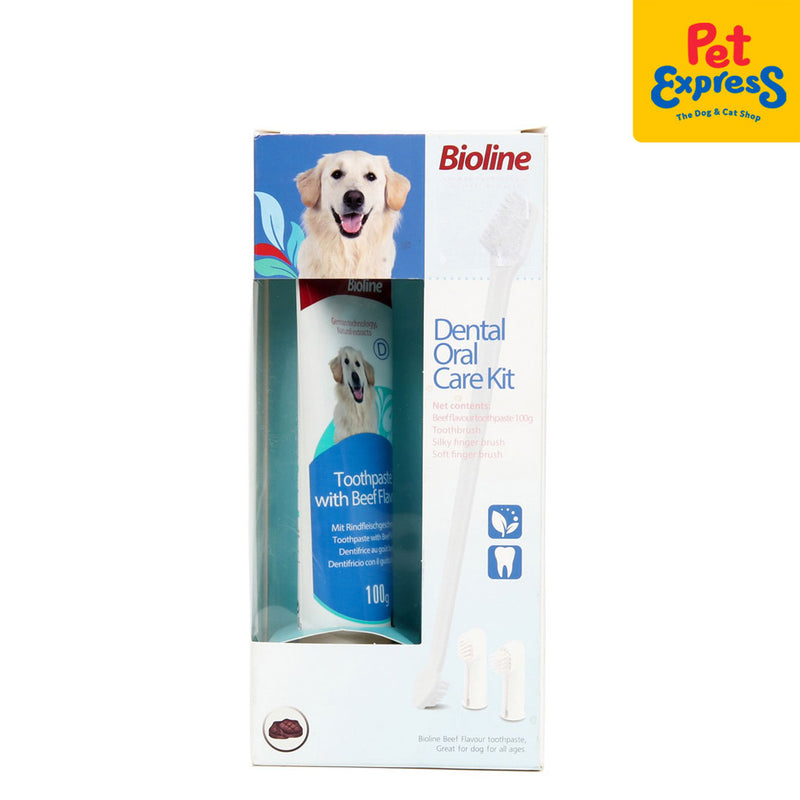 Bioline Dental Oral Care Kit Beef Flavor