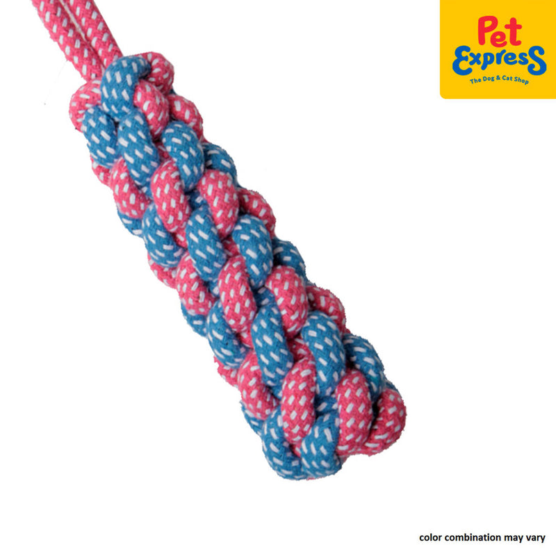 Pet Toy Knotted Rope Small B057 (Pink)