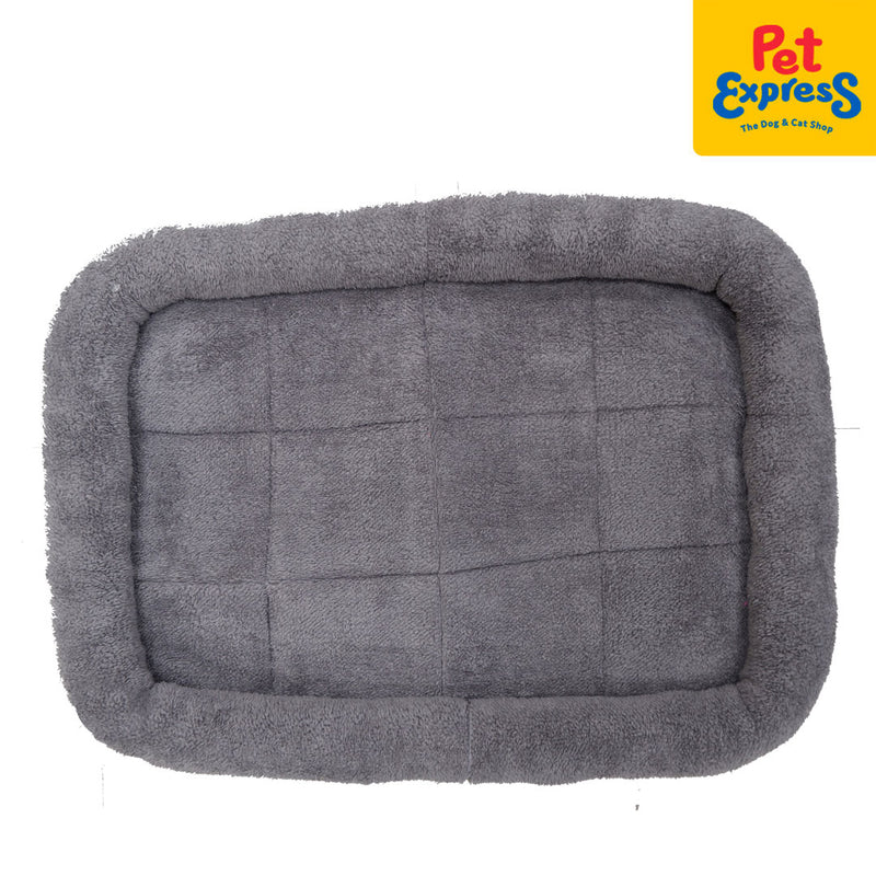 Pet Bed Rectangular Gray 58.42x6.35x45.72cm