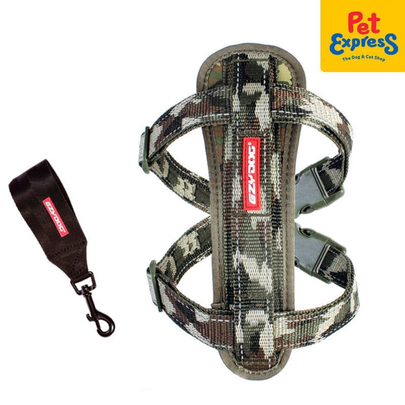Ezydog Chestplate Harness Small Camouflage