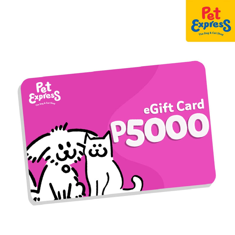 Pet Express Electronic GC P5,000