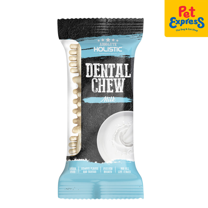 Absolute Holistic Dental Chew Milk 25g