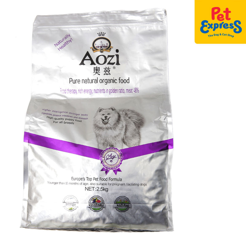 Aozi Puppy Silver Dry Dog Food 2.5kg