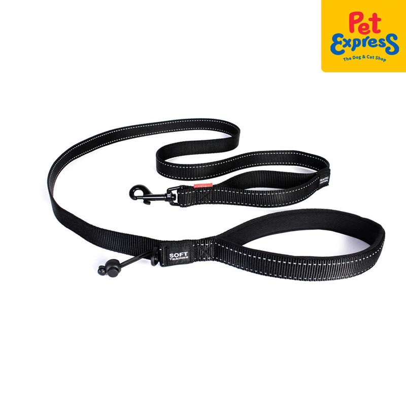 Ezydog Soft Trainer Leash Black