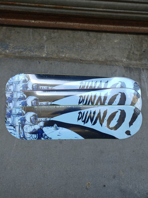 "Dunno Skateboards Ray Gun 8.0"" Deck"