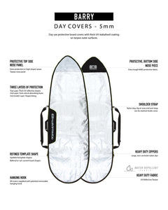 "6'4"" Ocean and Earth Barry Basic Fish Cover"