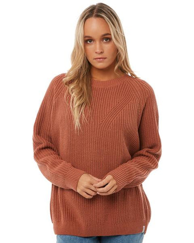 Rhythm East Village Knit Terracotta