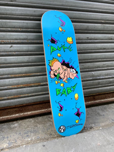 "Pocket Pistols Puke Baby Mini Shred Blue 7.75"" Deck"