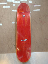 "Dunno Skateboards 7.75"" Pattern Red Deck + FREE GRIP"