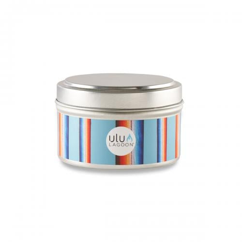ulu Lagoon Baja Travel Tin 6oz Coconut Scented Candle