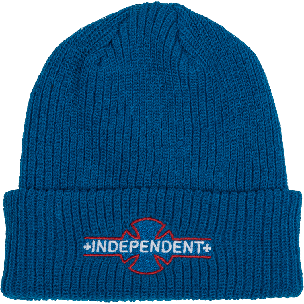 Independent Underground Long Shoreman Beanie (Pacific Blue)